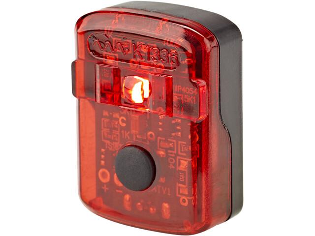 Cube RFR Tour USB Baglygte, sort/rød
